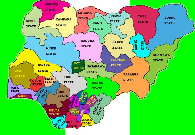 HOW NIGERIAN 36 STATES GOT THEIR NAMES – Bionerdsng